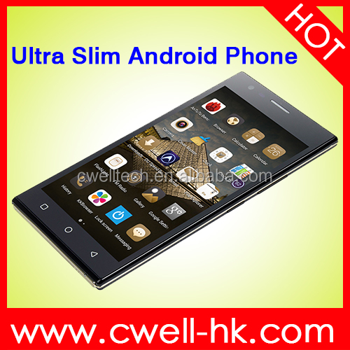 Ultra Slim Design X-BQ P7 5.0 Inch QHD Touch Screen mobile android phone