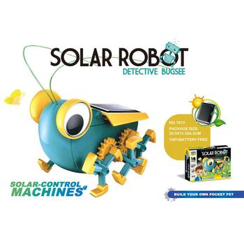 2019 DIY educational lab science solar power robot kit toy