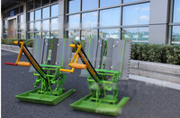 2 rows man power rice transplanter,rice seeder,rice seeding machine