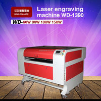 WD-1390 hot sale cnc laser engraving cutting machine best price smart and strong small-scale metal laser cutting
