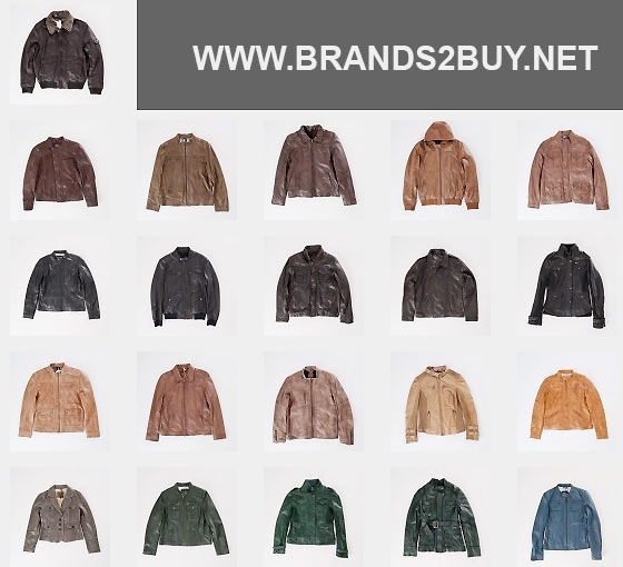Leather jackets - Branded apparel stocklot