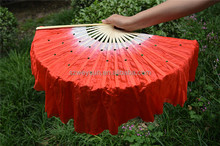 Eco-friendly Plastic Hand Made Chinese Dancing Fans For Women