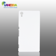 Protective Solid 3D Blank OEM Plastic Sublimation Phone Case for Z4