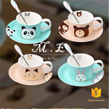 Factory sale attractive style spooner ceramic mug wholesale