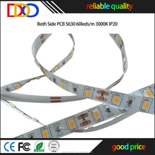 Top level quality 200mp 3m tape smd 5630 led strip lighting with competitive price