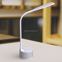 Dimmable LED Desk Lamp, Folding Table Lamp Smart Music Lamp Desk Light with Built-in Bluetooth Speaker