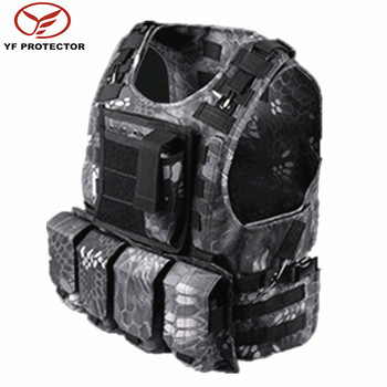 new style molle pouch combat tactical vest