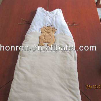 100% organic cotton fashionable baby sleeping bag