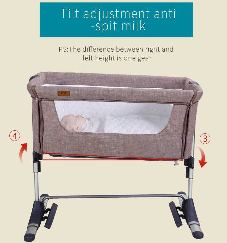 European quality baby bed suitable for adult bed