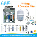 nice looking domestic RO water filter 8 stage with uv water purifier