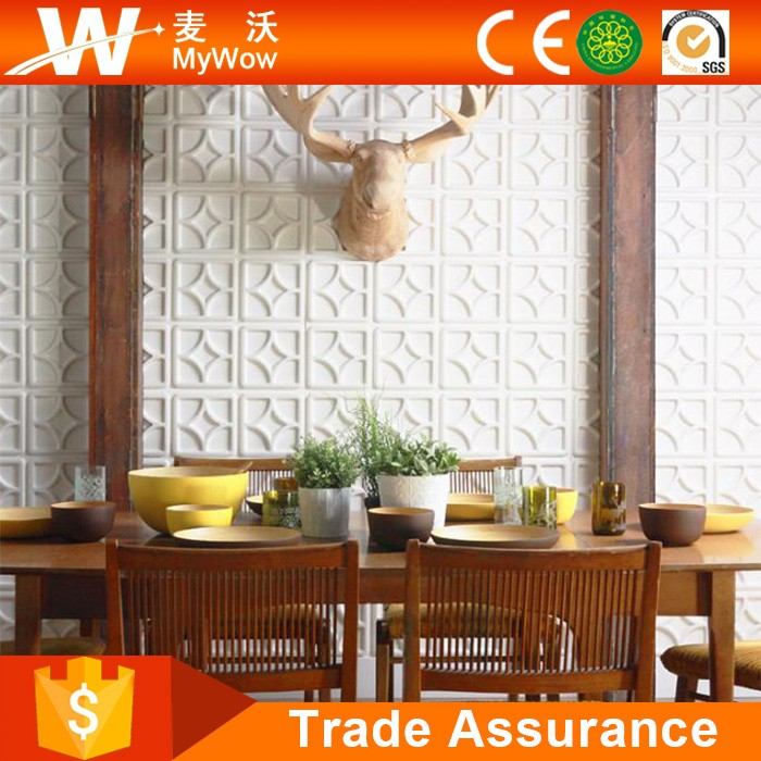 Eco Bamboo or PVC Waterproof Hot Sale 3D Wall Panels for Wholesale