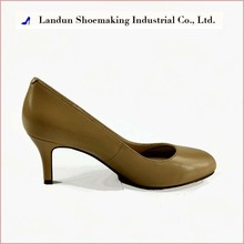 ld103031 Italian genuine leather round toe fashion dress ladies shoes