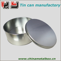 Professional Manufacturer round food tin can