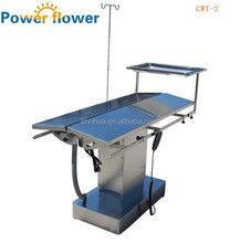 CWT-2Cheapmedical equipment manufacture Stainless steel electrical Veterinary Surgical Operation Table with constant temperature