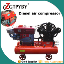 Feili portable piston diesel engine driven air compressor diesel motor for mining