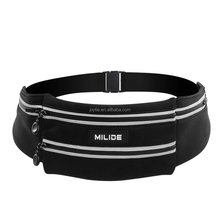 Running Waist Bag Belt With Reflective Strips Fanny Pack For Men