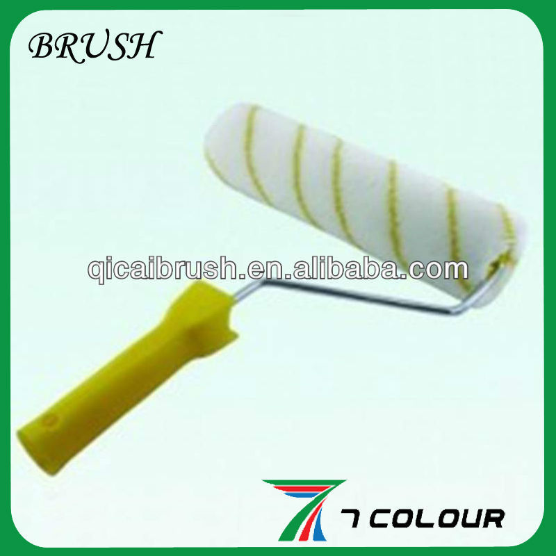 plastic handle Tin-coated iron line Paint Roller