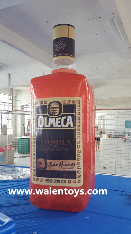 giant inflatable beer bottle/promotional coca cola bottle/can china supplier