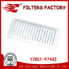 17801-97402 air filter for Toyota genuine auto spare part in china