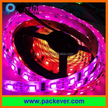 5VDC 60 LED/m rgb color programmable pixel flexible lpd8806 led strip