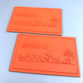 High Quality Washable Leather Embossed Labels