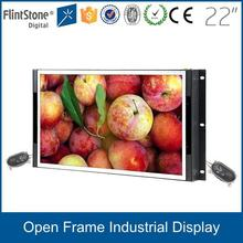 FlintStone 22 inch HD tft lcd VGA monitor, frameless display monitor, industrial open frame monitors
