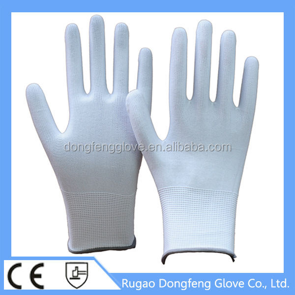 CE Nylon Knit Gloves For Light Engineering Work