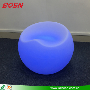 LED Color Changing Indoor/Outdoor Chair with Remote Control