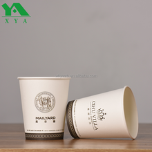 eco friendly custom design disposable paper coffee cups for distributors