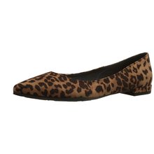 2017 Fashionable sexy flat women leopard print shoes flat for lady