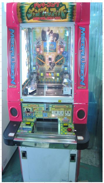 Japan popular Donkey Kong Jungle Fever game / coin pusher