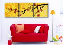 acrylic flower painting ,painting by numbers flower photo,for home deco