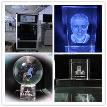 Promising Style Fasten 3D Photo Crystal Trophy Laser Engraving Machine