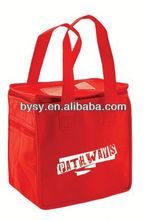 Custom print strong nylon wholesale insulated cooler bag