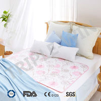 soft and flexible gel-inside cooling mattress for bed/sleeping cool sheet