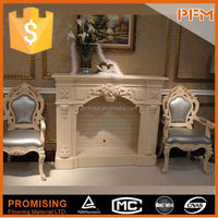 ?hand made moulding? clay chimenea fireplace