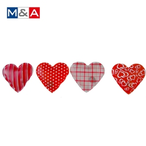 Portable heart shape reusable click instant self heating pack