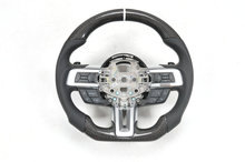 100% Real Carbon fiber car steering wheel for Ford Mustang