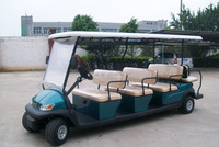 11 passenger electric shuttle bus/electric mini bus/mini electric car