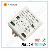 12V 5W led driver power supply with CE UL GS CB SAA approved
