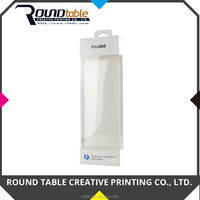 Costom Hanging Transparent Plastic Paper Box for Electronic Device Packaging
