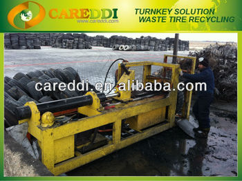 tyre / tire shredder for sale