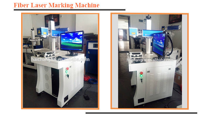 High precision 20w metal fiber laser marking machine for sale