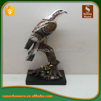 Resin Crafts Artificial Eagle Home Decoration Wholesale