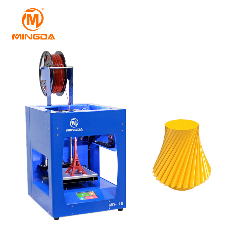 Full metal frame 3D printer <strong>z</strong>-axis lead screw MINGDA MD-16 3d printer build size 160*160*160mm