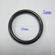 Black Color Metal Curtain Ring For Wholesale With High Quality