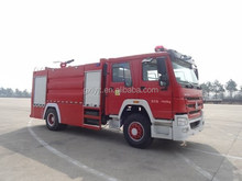Sinotruk Light truck chassis, fire truck water cannon, iveco fire truck, fire truck inflatable water slide