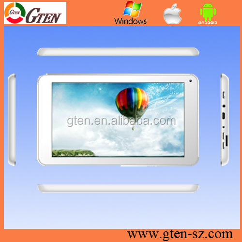 4GB MTK6572 dual core second hand tablet built in WiFi 3G Phone call Dual Camera GPS