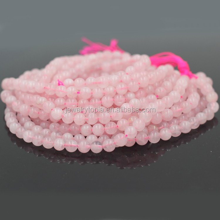 Wholesale Semi Precious Gemstone Beads Rose Quartz