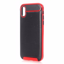 Phone Accessories Mobile TPU Carbon Fiber Case for iPhone X , For iPhone X Case , For iPhone X Cover TPU